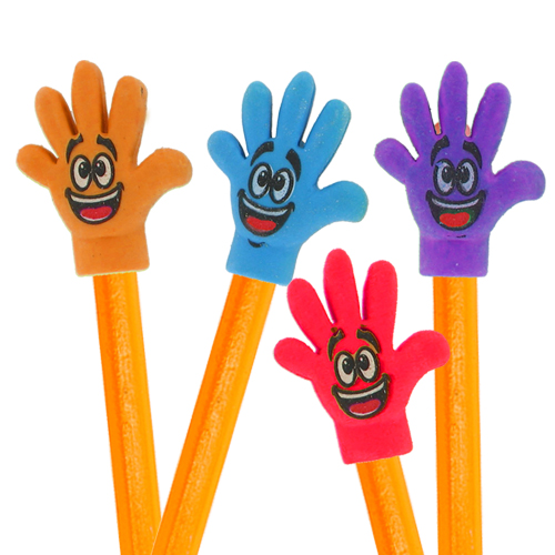 High Five Hand Erasers Image