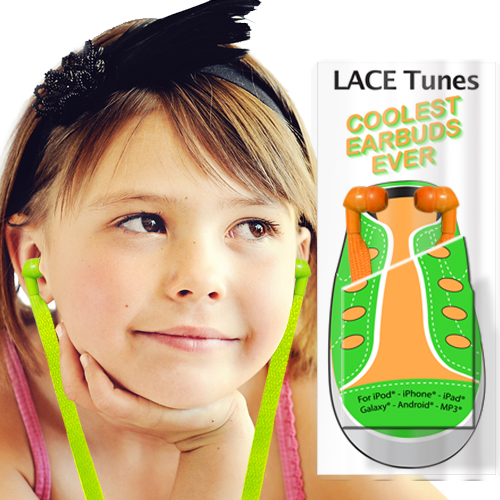 Lace Tunes Shoelace Earbuds Image