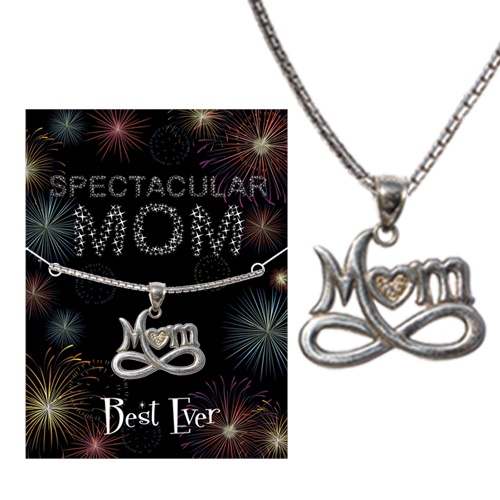 Mom Infinity Necklace Image
