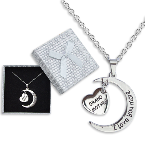 I Love You More Grandmother Necklace Image